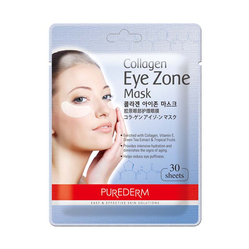 Purederm Collagen Eye Zone Pad Patches Mask