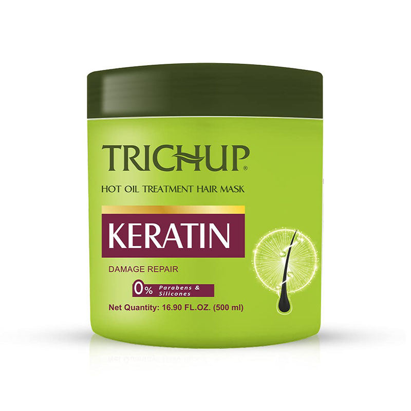 Trichup Keratin Hot Oil Treatment Hair Mask For Flexible, Strong & Manageable Hair