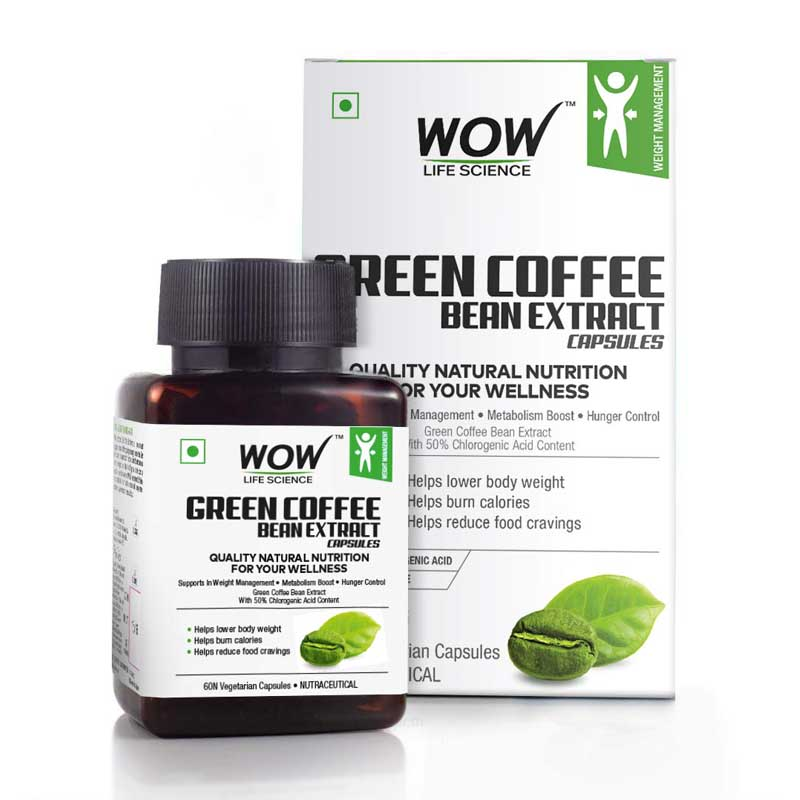 Wow Green Coffee Bean Extract Capsules