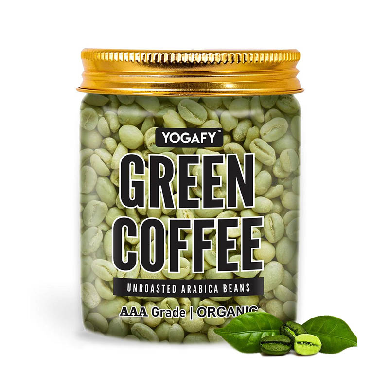 YOGAFY - Organic Green Coffee Beans For Weight Loss & Detox