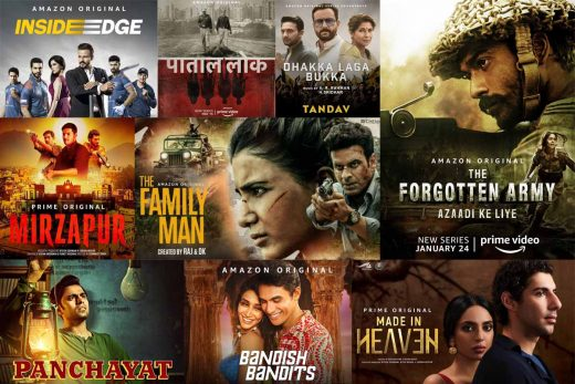 best Indian web series on amazon prime