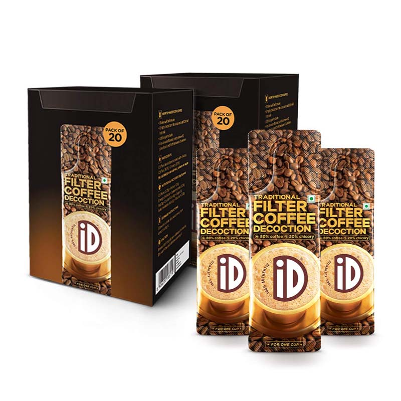 iD Percent Authentic Instant Filter Coffee Decoction