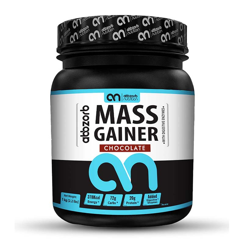 Abbzorb Nutrition Mass Gainer With Vitamins, Minerals & Digestive Enzymes