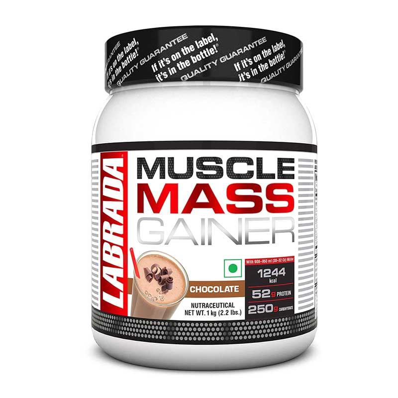 best mass gainer for beginners in India - Labrada Muscle Mass Gainer
