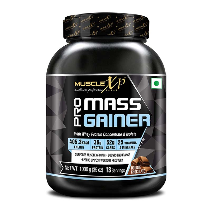 MuscleXP Pro Mass Gainer - With Whey Protein Isolate, 25 Vitamins & Minerals