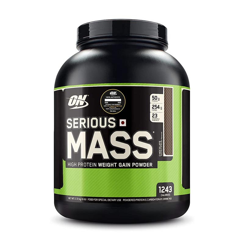 Optimum Nutrition Serious Mass High Protein and High Calorie Mass Gainer