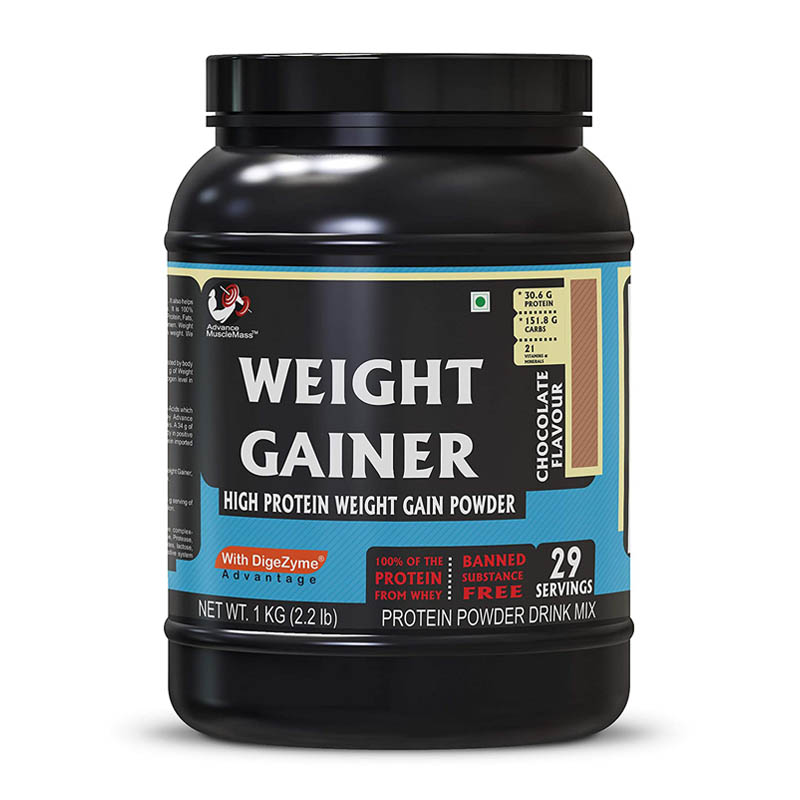 Strava Advance Muscle Mass Weight Gainer With Enzyme Blend