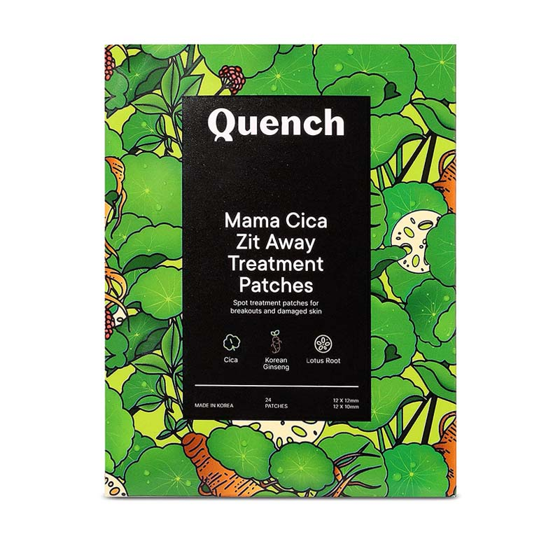 Quench Botanics Mama Cica Zit Away Treatment Patches