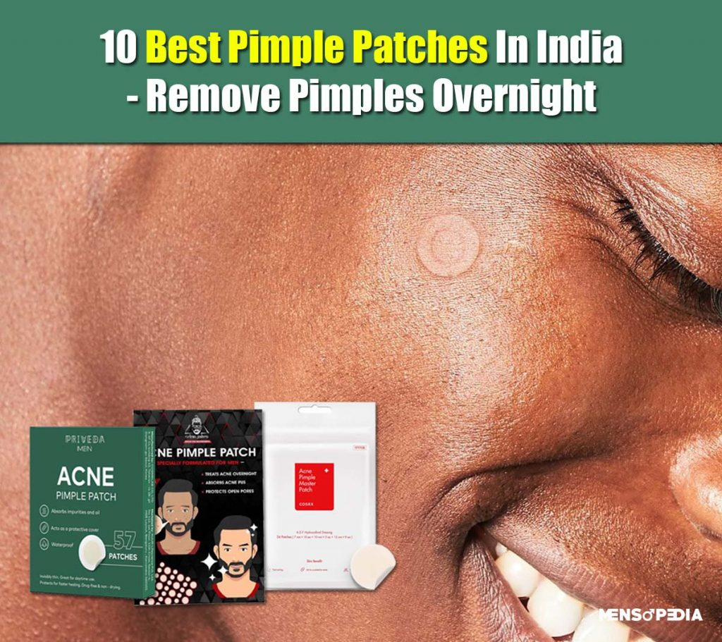 what are the best pimple patches for men in india