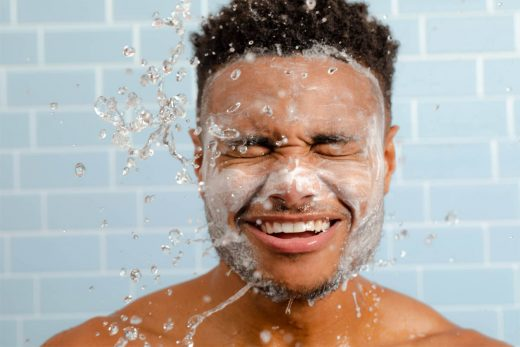 best coffee face wash for men