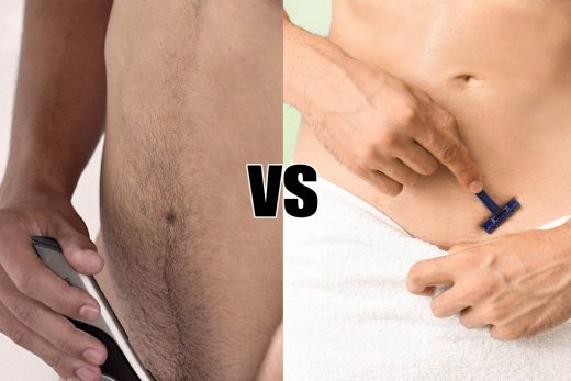 trimming or shaving which is correct for intimate hygiene